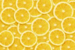 Lemons cuted background