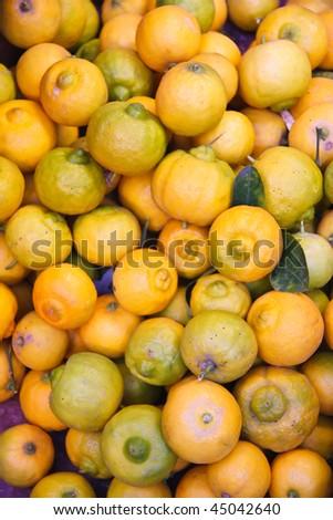 Lemons from Moroccan Market