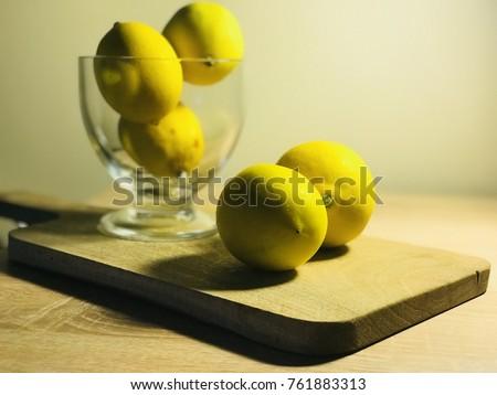 lemons in the jar Stok fotoğraf ©
