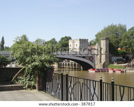 Lendal Bridge Over The River Ouse York