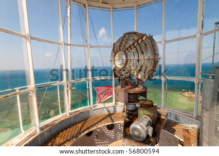 Lengkuas Island Lighthouse Indonesia Old Dutch lighthouse