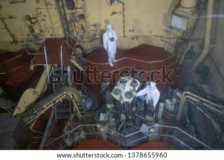 Lenin nuclear icebreaker , nuclear reactor