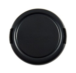 Lens cap with clipping path.