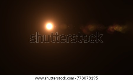 Lens flare , Abstract overlays background. #778078195