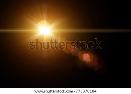 Lens Flare Effect #773370184