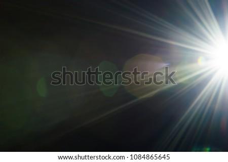 lens flare light #1084865645