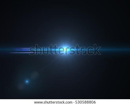 Lens flare light #530588806