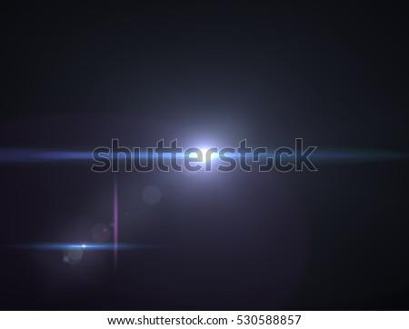 Lens flare light #530588857