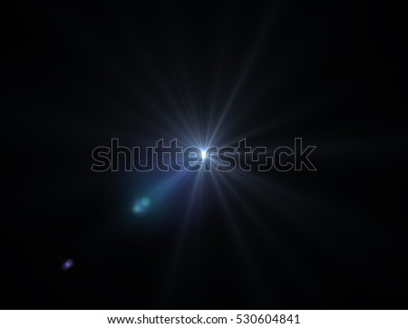 Lens flare light #530604841