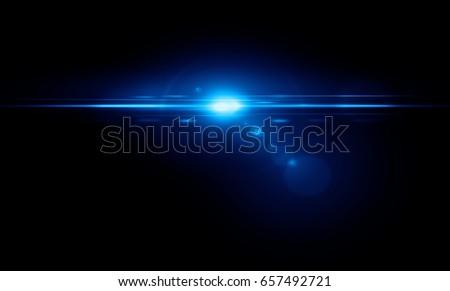 Stock Photo Lens flare light