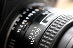 Lens for camera 50mm 1.4