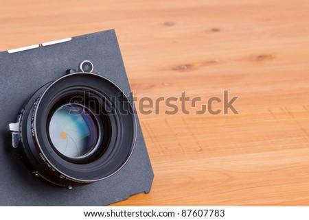 Lens for large format camera