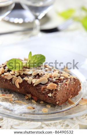 Lenten Almond Cake