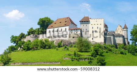 Lenzburg castle near Zurich, Switzerland
