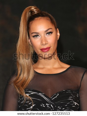 Leona Lewis signs copies of her album 'Glassheart' at HMV Oxford Street London. 15/10/2012 Picture by: Alexandra Glen