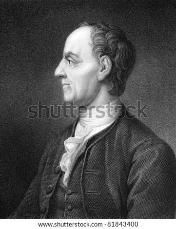 Leonhard Euler (1707-1783). Engraved by B.Holl and published in The Gallery Of Portraits With Memoirs encyclopedia, United Kingdom, 1835.