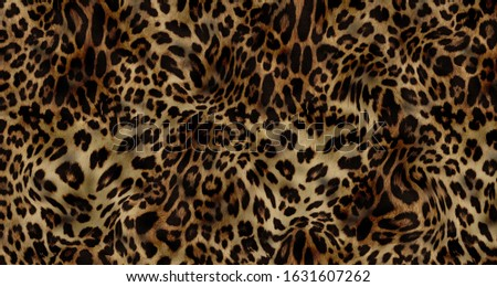 leopard colorful aanimal fabric textile pattern Photo stock ©