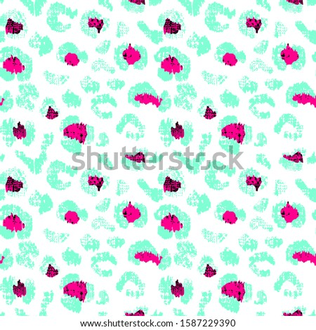 Leopard pattern. Animal pattern. Texture pattern. Background pattern
