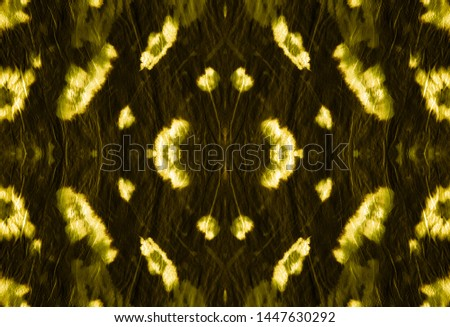 Leopard Print. Zoo African Fashion Animal Decoration. Drawn by Hand Exotic Material Design. Seamless Gold Rapport. Ink Textured Tiger Leather. Watercolor Leopard Print.