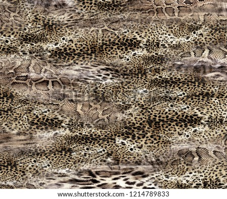 leopard rounds silk scarf design, fashion textile
