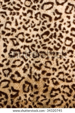 Leopard skin pattern - sensual silky soft blanket or clothing material with animal design