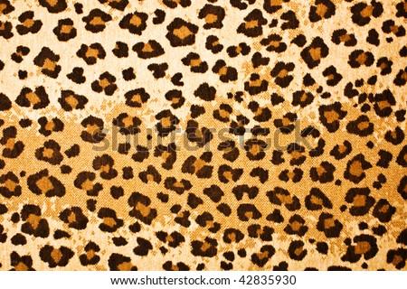 leopard textured background