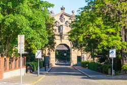 Leopold Gate - part of baroque fortification of Vysehrad, Prague, Czech Republic