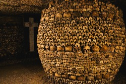 Les Catacombes de Paris, France