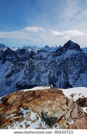 Les Deux Alpes - View from the glacier