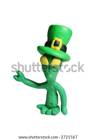 Les étrangers célèbre le jour de rue Patrick aussi ! ! ! - stock photo