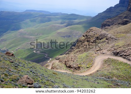 Newest free lesotho officially the kingdom of lesotho is a detail lesotho officially the kingdom of lesotho is a landlocked country and enclave surrounded sciox Images
