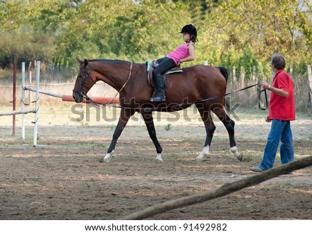 Lesson with Riding Instructor
