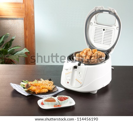 Let's do your chicken fried by using deep fryer machine comfortable and fast