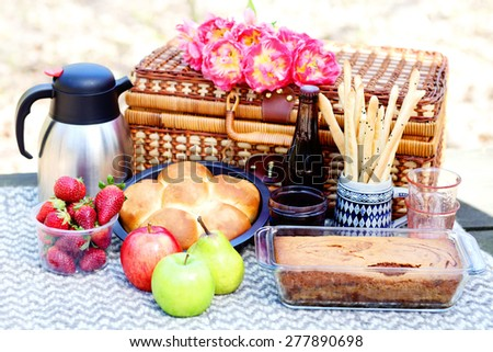 let's go for a picnic - food and drink Stok fotoğraf ©