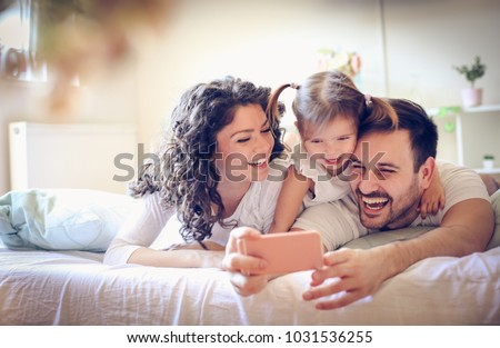 Let take a photo of our happy family.