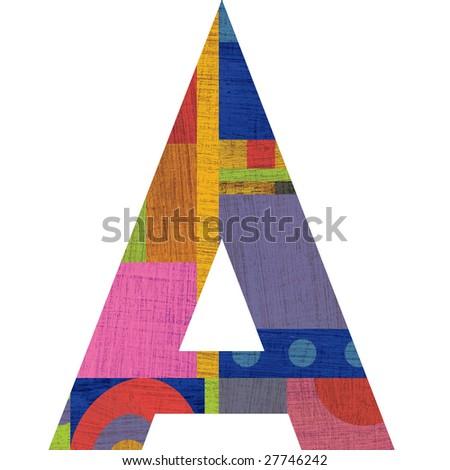 A Alphabet Letter Letter A Alphabet Symbol