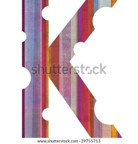 Letter K Alphabet Symbol  K Letter Alphabet