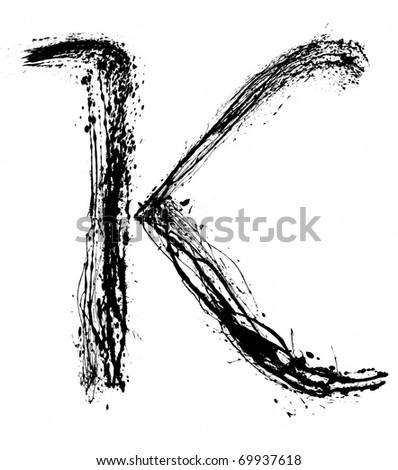 K Alphabet Letter Letter K  Alphabet symbol