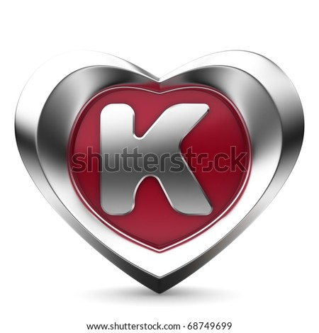K Letter With Heart Images all images all images photos vectors illustrations footage music ...