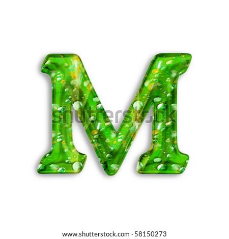 Green Letter m Logo Letter m Green Letter