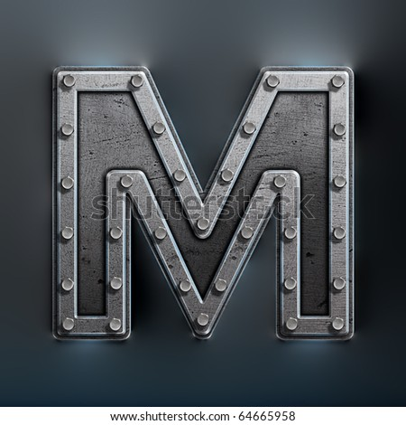 letter m wallpapers. stock photo : LETTER M,