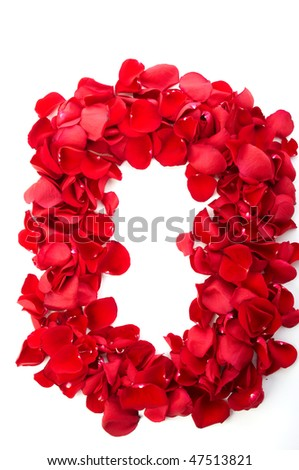 Letter O, Letter Of Love Word Stock Photo 47513821 : Shutterstock