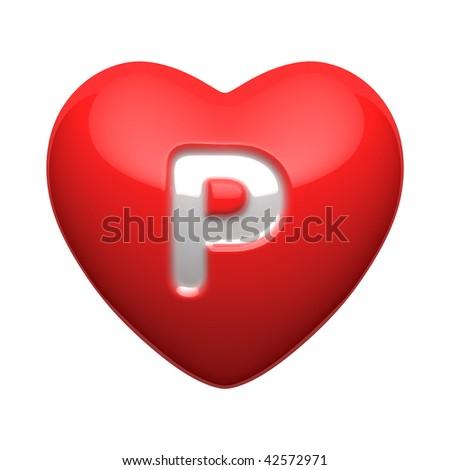 P Alphabet Letter Letter P from alphabet of