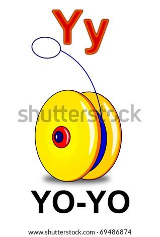 """Letter """"Y"""" yo-yo"""