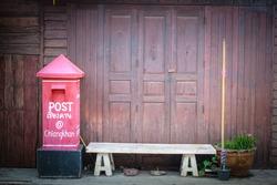 Letterbox House petrified wood