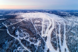 Levi is a fell located in Finnish Lapland, and the largest ski resort in Finland. The resort is located in Kittila municipality. The peak of the Levi fell is at an elevation of 531 metres above sea.