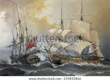 LEZO, Blas de (1687-1741), Spanish sailor, Capture of the English frigate \