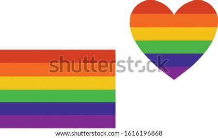 LGBT symbolism, the rainbow flag, good as you
