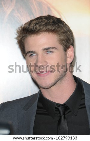 "Liam Hemsworth at ""The Last Song"" World Premiere. Arclight, Hollywood, CA. 03-25-10"