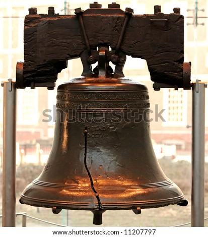 Liberty bell in Philadelphia P.A - stock photo